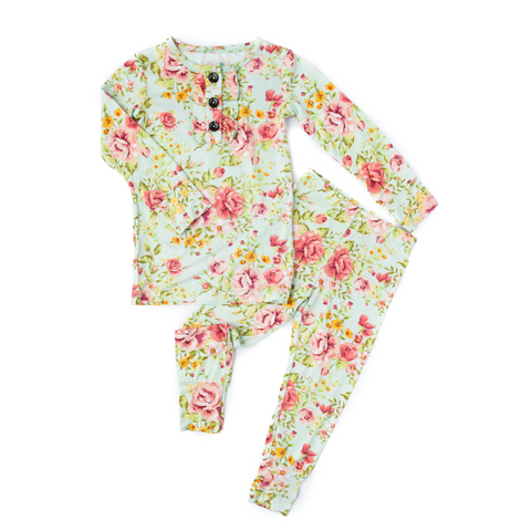 Grace Floral Ruffle Two Piece - Gigi and Max