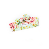 Grace Floral Topknot Headband - Gigi and Max