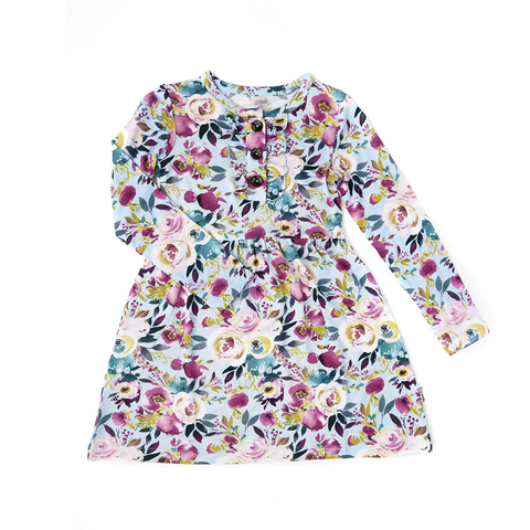 Annie Floral Ruffle TUTU DRESS - Gigi and Max