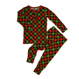 Paxton Christmas Plaid TWO PIECE - Gigi and Max