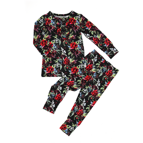 Holly Floral Ruffle TWO PIECE - Gigi and Max