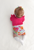 Tessa Floral Ruffle BUMMIES - Gigi and Max