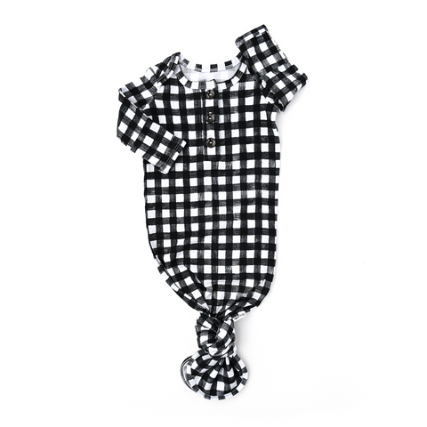 Parker Gingham GOWN - Gigi and Max