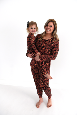 Sienna Leopard MOMMY TWO PIECE - Gigi and Max