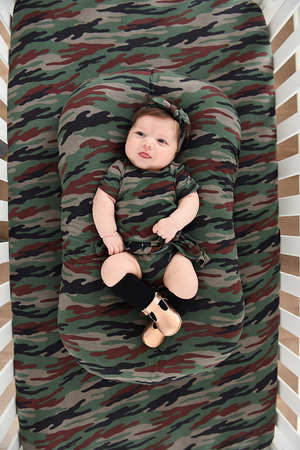 Camo Crib Sheet - Gigi and Max