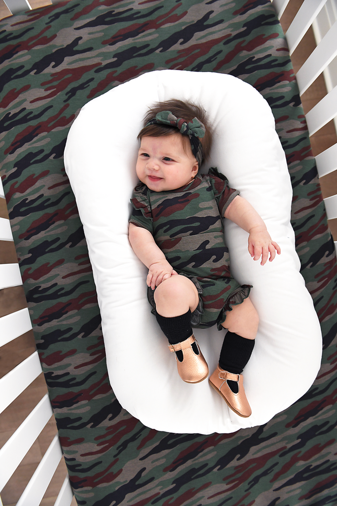 Camo Topknot Headband - Gigi and Max