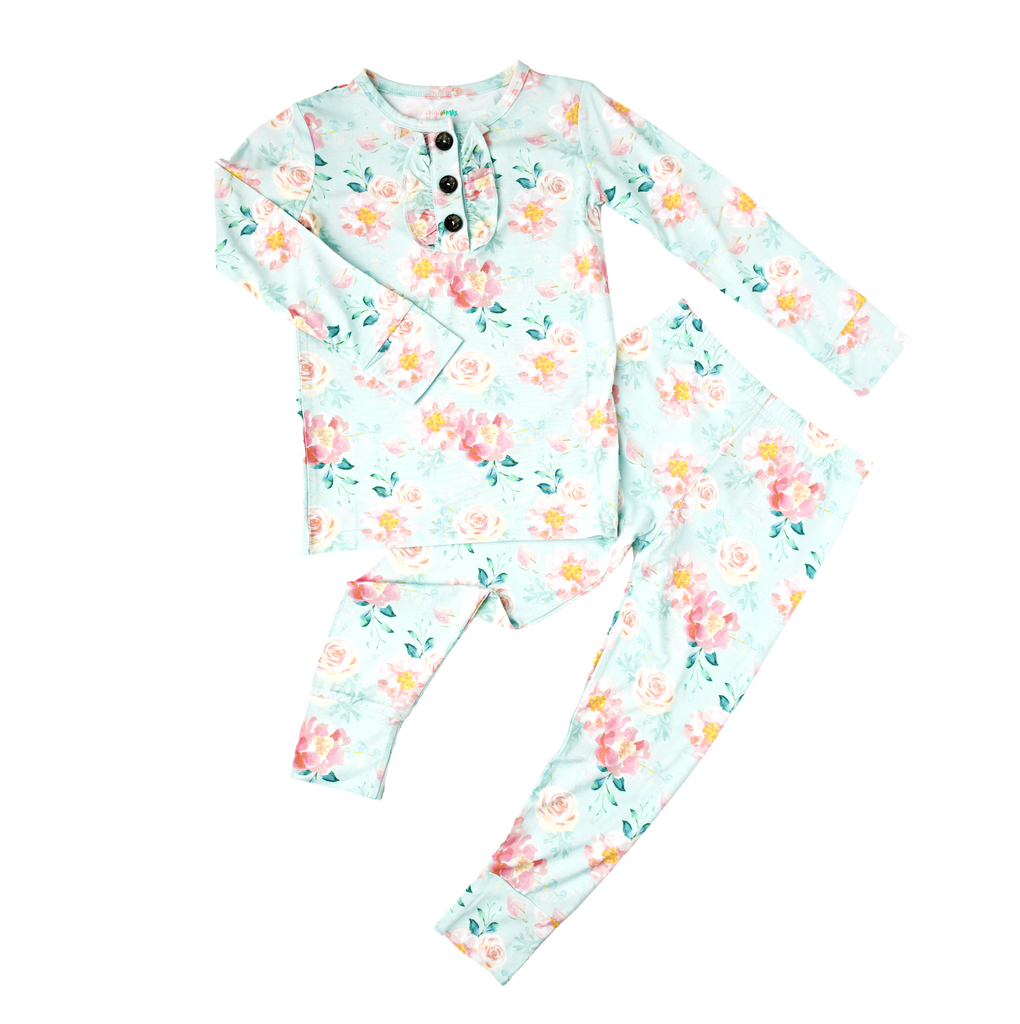Mae Floral Ruffle TWO PIECE - Gigi and Max