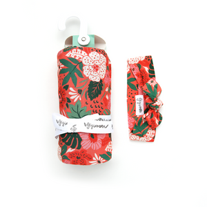 Leilani Floral SWADDLE - Gigi and Max