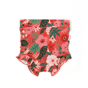 Leilani Floral Ruffle BUMMIES - Gigi and Max