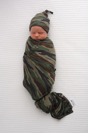 Camo SWADDLE - Gigi and Max