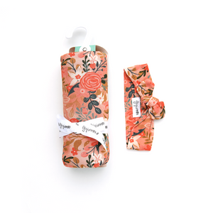Ava Floral SWADDLE
