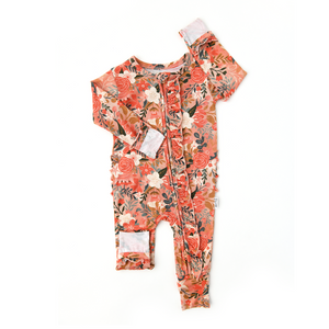 Ava Floral Ruffle ZIP