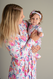 Bella Floral Mommy Robe - Gigi and Max