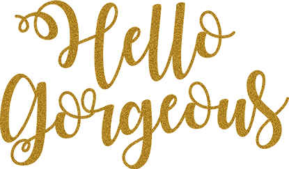 Hello Gorgeous - Glitter Gold - Gigi and Max