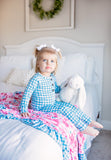 Lucy and Connor Double Layer Ruffle Blanket - Gigi and Max