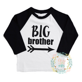Big Brother Raglan - Gigi and Max