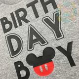 Mickey Birthday Tee
