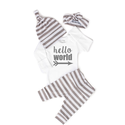 Gender Neutral Hello World set - Gigi and Max