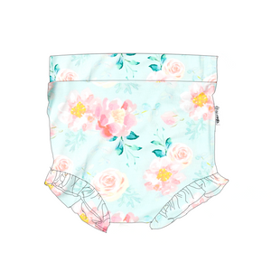Mae Floral Ruffle BUMMIES - Gigi and Max