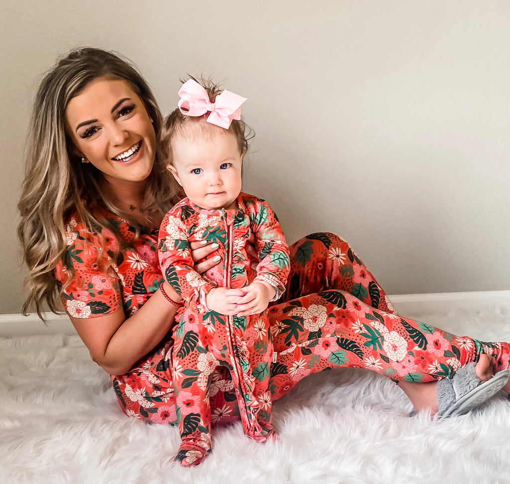 Leilani Floral MOMMY TWO PIECE - Gigi and Max