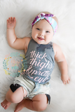 Thick thighs & Pretty Eyes tee/tank