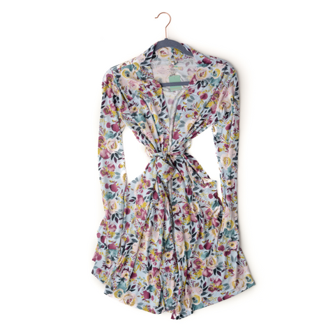 Annie Floral MOMMY ROBE - Gigi and Max