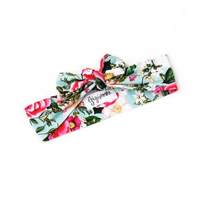 Garden Floral Topknot Headband - Gigi and Max