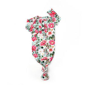 Garden Floral Ruffle GOWN - Gigi and Max