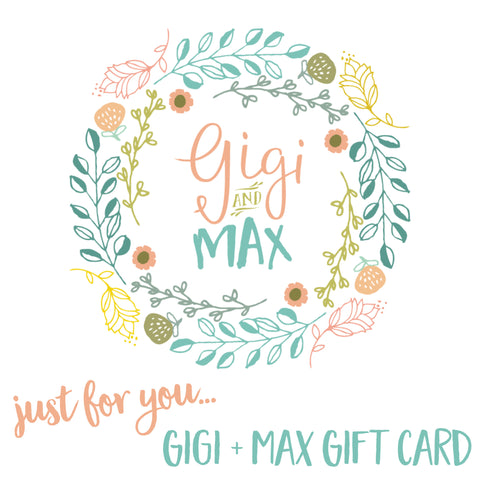 Gigi and Max Gift Card
