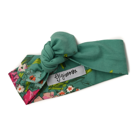 Addy Floral headband - Gigi and Max