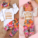 Autumn Floral 3 piece Newborn Going home Outfit (you choose shirt design!) - Gigi and Max