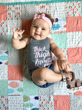 Thick thighs & Pretty Eyes tee/tank - Gigi and Max