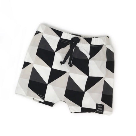 Triangle Geo Shorts only - Gigi and Max