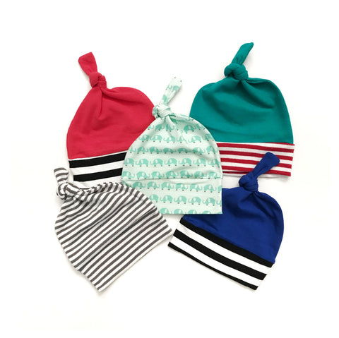 ONE random knot hat - free with select newborn boy set purchase! - Gigi and Max