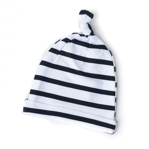 Charlie stripe Newborn knot hat - Gigi and Max