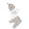 Let the Adventure Begin Plane Newborn Outfit