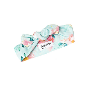Mae Floral Topknot Headband - Gigi and Max