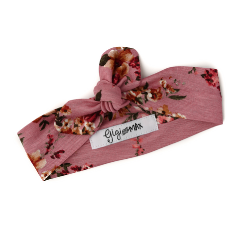 Everly Floral headband - Gigi and Max