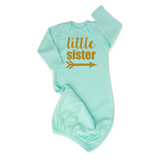 Mint Gold Shimmer - Little Sister - Gigi and Max