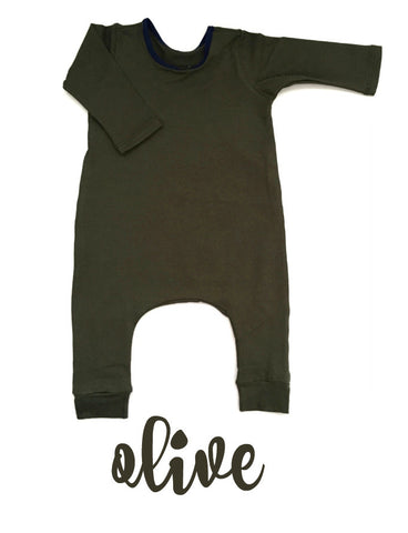 Olive SIMPLE Long Sleeve
