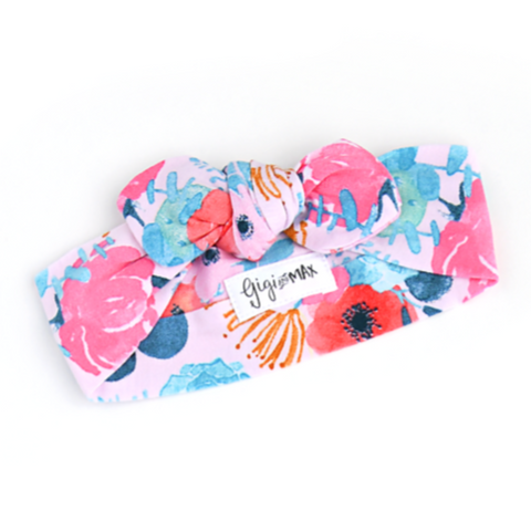 Phoenix Floral Topknot Headband - Gigi and Max
