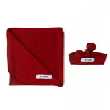 Red Rust Lightweight Swaddle blanket - Gigi and Max