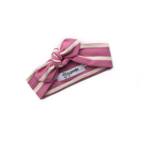 Sophia Purple Stripe Headband - Gigi and Max