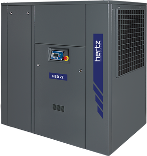 Hertz 40 HP Rotary Screw Air Compressor 171 CFM, 230/460 Volt 3 Phase | HBD 30