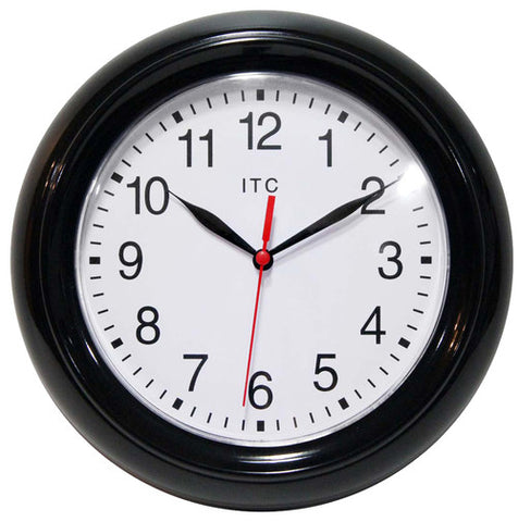 "9"" Focus Wall Clock"