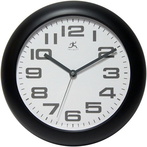 "12"" Clear Wall Clock"