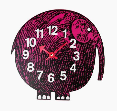 "10"" George Nelson Zoo Timer Wall Clock - ELEPHANT"