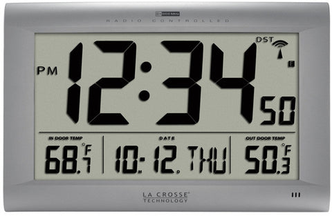 Large Atomic Digital Wall Clock