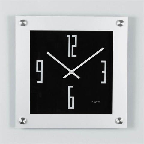 "16"" Steel Wall Clock"