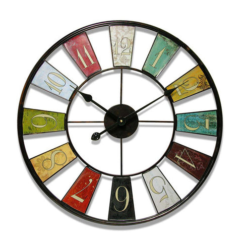 Baby Kaleidoscope Wall Clock